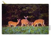 Two Doe And One Buck Carry-all Pouch