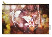 Two Fairies In The Web Carry-all Pouch