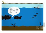 Two Fish Discuss Wave Theory. Carry-all Pouch