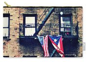 Two Flags In Washington Heights Carry-all Pouch