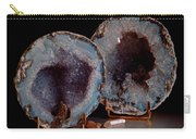 Two Geodes Carry-all Pouch