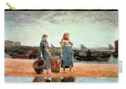Two Girls On The Beach Carry-all Pouch