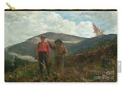 Two Guides Carry-all Pouch by Winslow Homer