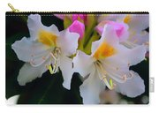 Two Iridescent White Rhoddys Carry-all Pouch