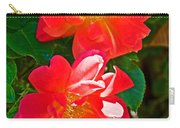 Two Joseph's Coat Roses At Pilgrim Place In Claremont-california Carry-all Pouch