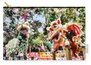 Two Lions Dancing  Carry-all Pouch