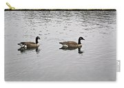 Two Lovely Canadian Geese Carry-all Pouch