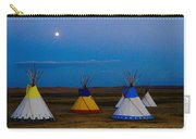 Two Medicine Teepees Carry-all Pouch