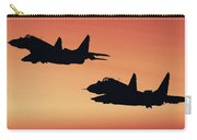 Two Migs At Sunset Carry-all Pouch