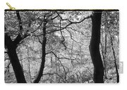 Two Monochrome Tress Carry-all Pouch