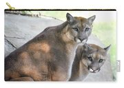 Two Mountain Lions Carry-all Pouch