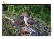 Two Mourning Doves H14 Carry-all Pouch