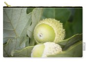 Two Oak Acorns Carry-all Pouch