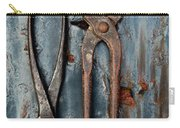 Two Old Rusty Pliers Carry-all Pouch