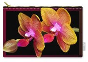 Two Orchids And A Bud Carry-all Pouch