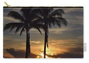 Two Palms At Dawn 18222 Carry-all Pouch