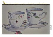 Two Pretty Teacups Carry-all Pouch