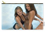 Two Pretty Women In A Pool. Carry-all Pouch