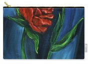 Two Red Roses Carry-all Pouch