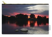 Two Rocks Sunset In Prosser Carry-all Pouch