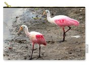 Two Roseate Spoonbills Carry-all Pouch