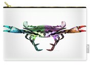 Two Sides - Duality Crab Art Carry-all Pouch
