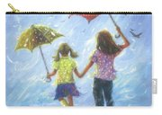 Two Sisters Rain Blond Little Sister Carry-all Pouch