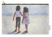 Two Sisters Walking Beach Carry-all Pouch
