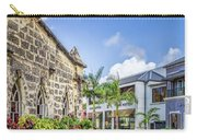Two Solitudes, Holetown Church And Limegrove Mall, Barbados Carry-all Pouch
