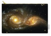 Two Spiral Galaxies Carry-all Pouch by Jennifer Rondinelli Reilly - Fine Art Photography