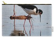 Two Stilts Walk The Pond Carry-all Pouch