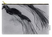 Two Studies Of A Bird Of Paradise 1630 Carry-all Pouch