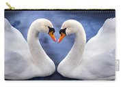 Two Swans Carry-all Pouch