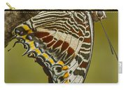 Two Tailed Pasha Butterfly Carry-all Pouch