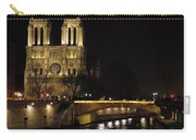 Two Towers Of Notre Dame Carry-all Pouch
