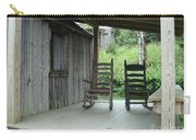Two Tranquil Rocking Chairs In The Mountains Carry-all Pouch