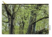 Two Trees In Springtime Carry-all Pouch