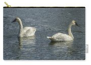 Two Trumpeter Swans At Oxbow Bend Carry-all Pouch