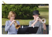 Two Trumpets Carry-all Pouch