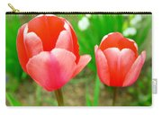 Two Tulips In Bloom  Carry-all Pouch