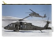Two U.s. Army Uh-60 Black Hawk Carry-all Pouch