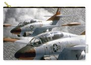 Two U.s. Navy T-2c Buckeye Aircraft Carry-all Pouch