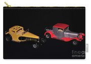 Two Vintage Cars Models  Carry-all Pouch