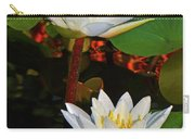 Two Water Lilies 004 Carry-all Pouch