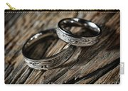 Two Wedding Rings With Celtic Design Carry-all Pouch