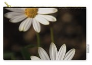 Two White Daisies  Carry-all Pouch