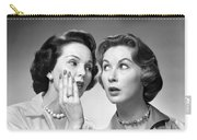 Two Women Gossiping, C.1950-60s Carry-all Pouch