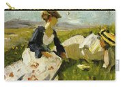 Two Women On The Hillside 1906 Carry-all Pouch