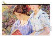 Two Women Reading Carry-all Pouch