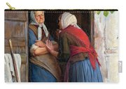 Two Women Talking Carry-all Pouch